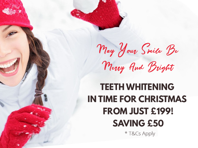 Dental Teeth Whitening Christmas Offer